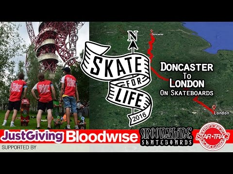 Skate-For-Life - Doncaster to London - 2016