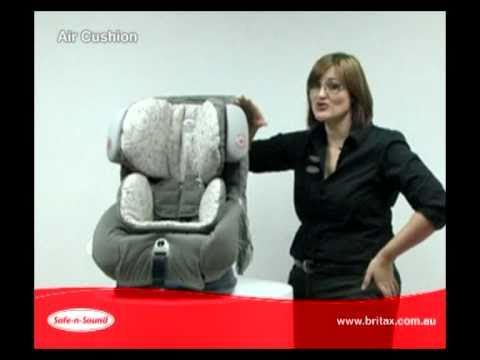Safe N Sound Platinum AHR Air Cushion Car Seat Baby Mode Australia