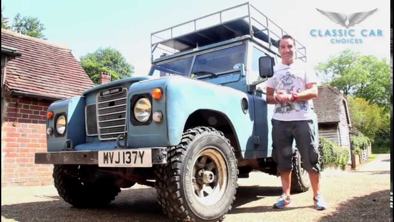 land rover series 3 overview youtube. Black Bedroom Furniture Sets. Home Design Ideas