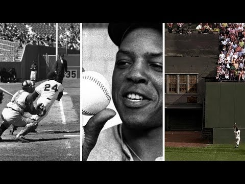 Willie Mays hits his 660th home run
