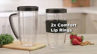 NutriBullet 1200 Series- What's Included - High Street TV