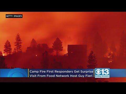 The Morning Breeze - Guy Fieri Surprises Emergency Responders In Butte County!