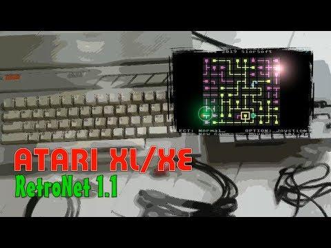 Atar XL/XE -=RetroNet=- v. 1.1