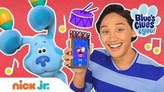 Blue's Clues & You! 🎺 Learning Musical Instrument Sounds & Writing Songs w/ Friends  | Nick Jr.