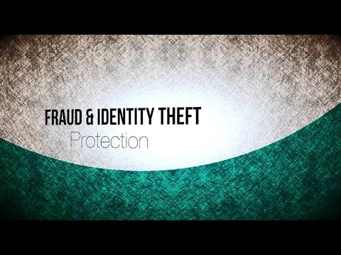 Tips To Protect Yourself From Fraud Iden Theft