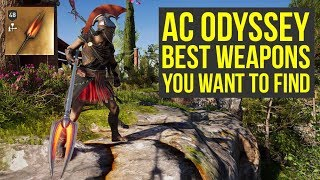 Assassin's Creed Odyssey Best Weapons You WANT TO FIND (AC Odyssey Best Weapons)