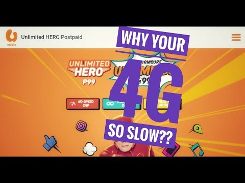 U Mobile, why is your 4G slower than your 3G speed?