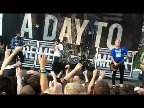 A Day to Remember - I'm Made of Wax.. (Live @ Riot Fest 2012)