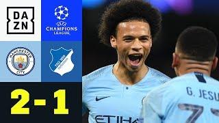 Genial! Leroy Sane mit Zauberfreistoß: ManCity - Hoffenheim 2:1  | Champions League | Highlights