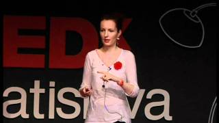 Hand made -- 2500 opportunities: Saša Šmidáková at TEDxBratislava