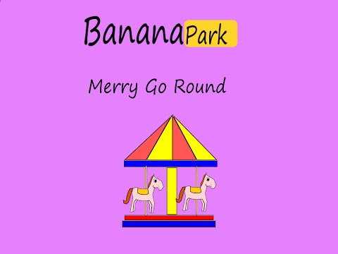 Merry go round song for Kids and Family