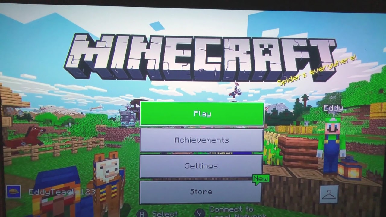 How to turn off narrator in Minecraft on Nintendo switch