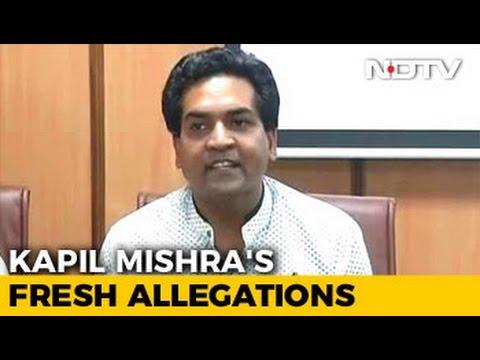 Arvind Kejriwal Into Money-Laundering, So Opposed Notes Ban: Kapil Mishra