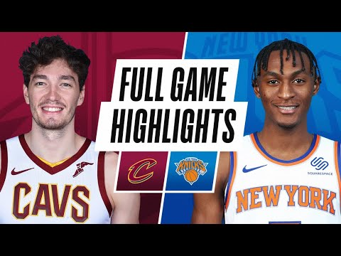 Download CAVALIERS at KNICKS | FULL GAME HIGHLIGHTS | December 18, 2020
