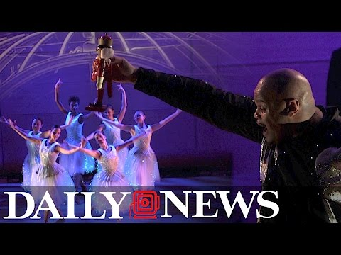 Brooklyn Ballet's 'Nutcracker' fuses dance and technology for a Christmas classic
