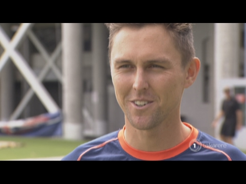 Trent Boult and new cap looking forward to South Africa