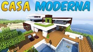 COME COSTRUIRE UNA CASA MODERNA! ➜ Minecraft PARTE#1