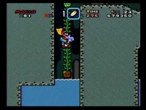Super Mario World Snes Walkthrough Part 15 Vanilla Dome 2 Both