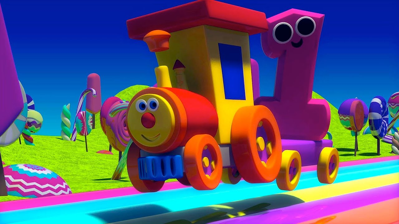 Ben The Train Ben And The Numbers In Candy Land Youtube