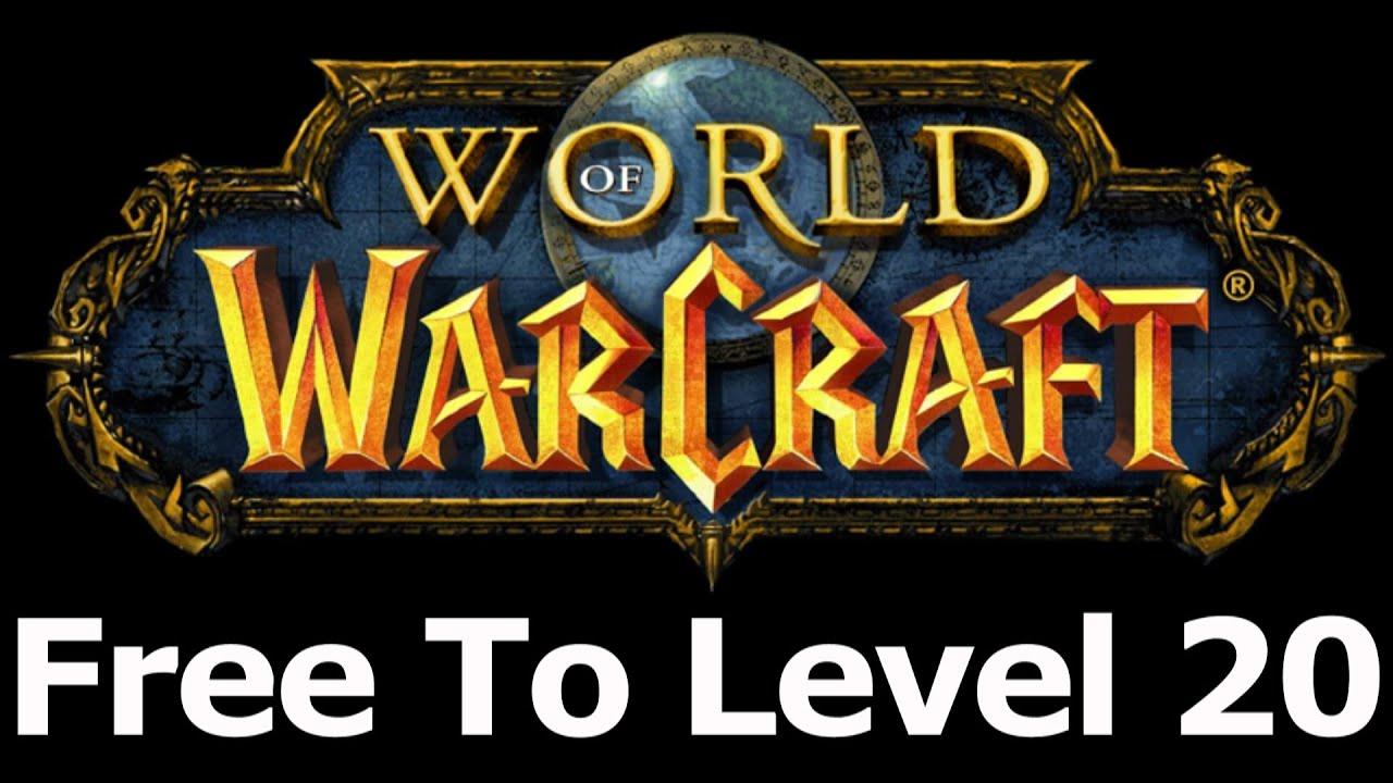 world of warcraft free till level 20