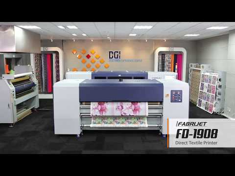 DGI FD-1908 Direct To Textile Printer