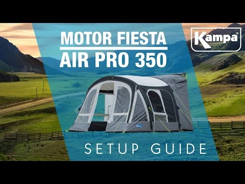Kampa | Motor Fiesta AIR Pro 350 | Setup Guide
