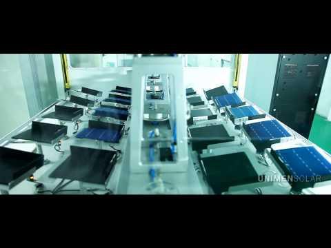Unimen Solar Production line