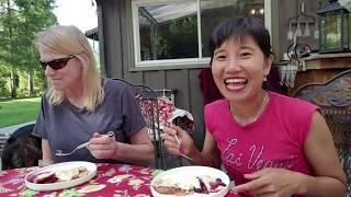 Làm bánh blueberry pie  cùng cô giáo Susan thật vui