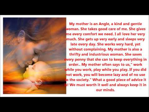 very short essay on mother