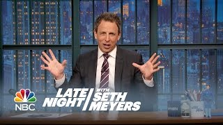 Seth's Story: Star Wars! - Late Night with Seth Meyers