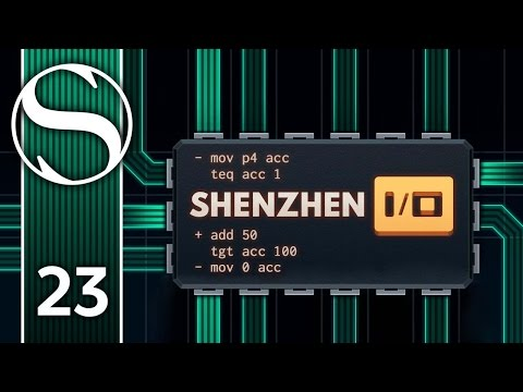 CARBINE TARGET ILLUMINATOR - Let's Play Shenzhen I/O - Shenzhen IO Gameplay Part 23