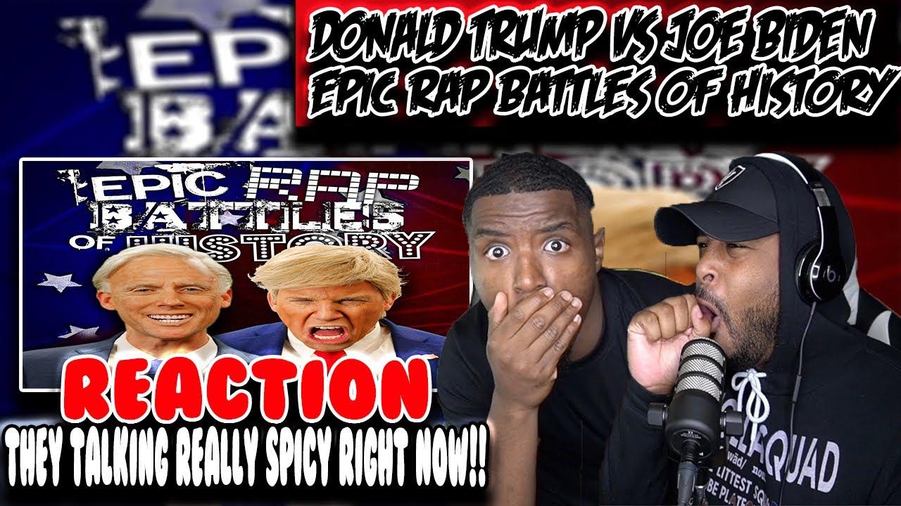 American Voters reacts to Donald Trump vs Joe Biden ( ERB ) | Reaction