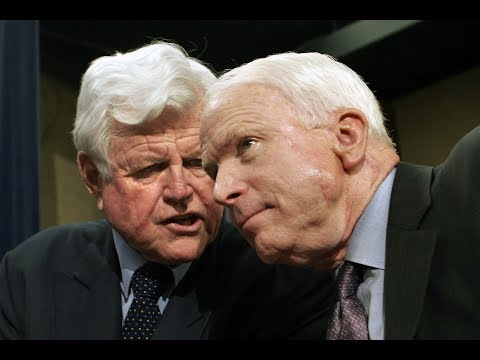 How did John McCain and Ted Kennedy find common ground? 'They listened'