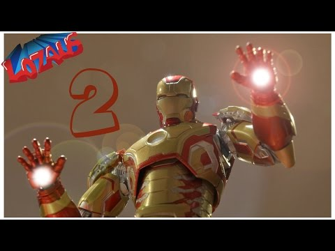 IRONMAN Stop Motion Action Video Part 2