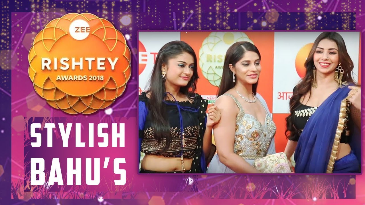 Shweta Mahadik,Rashami Gupta,Sehrish Ali At Zee Rishtey