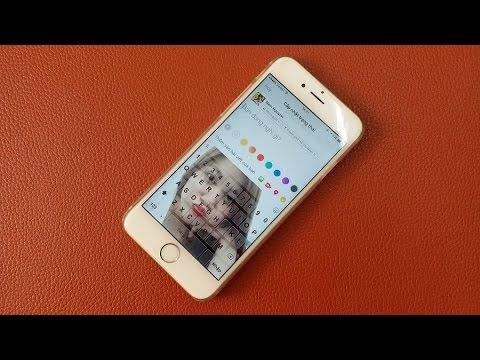 Hướng dẫn chèn ảnh gấu vào bàn phím iPhone cực đẹp