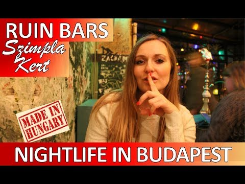 💋NIGHTLIFE IN BUDAPEST HUNGARY VLOG 2019 💋Here's Where To Go Out In Budapest Vlog 2019