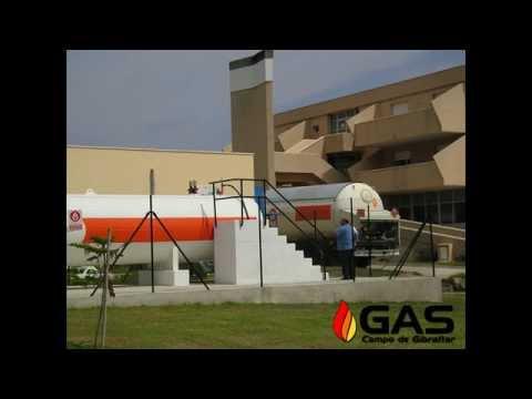 INSTALACION GAS CAMPO DE GIBRALTAR, ALGECIRAS, PLACAS SOLARES