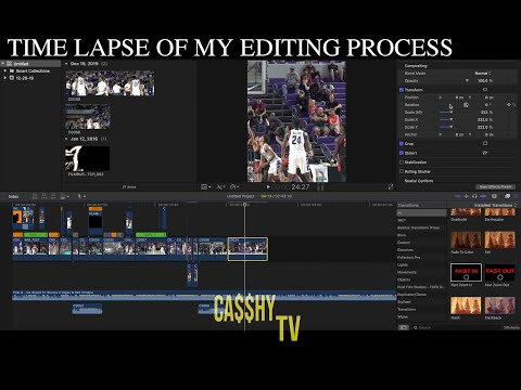 Peek In On Editing On Tennessee Commit Jaden Springer's Mix