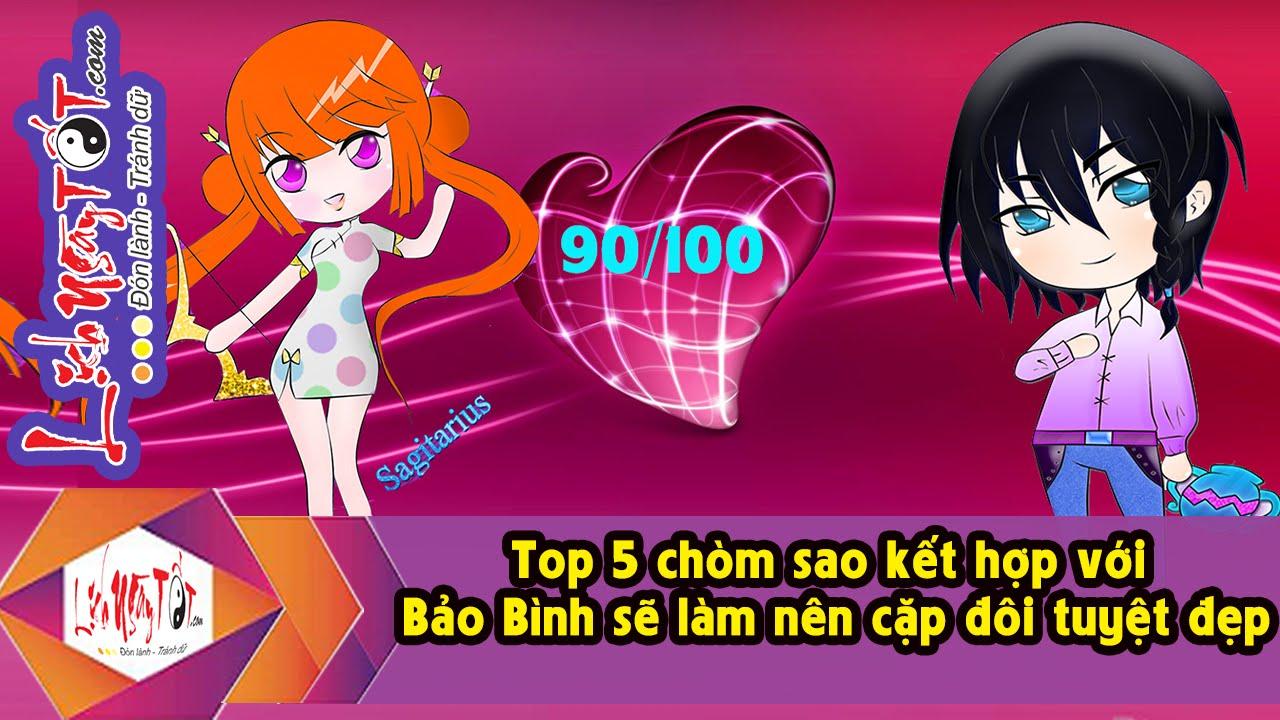 Top 5 chòm sao kết hợp với Bảo Bình sẽ làm nên cặp đôi tuyệt đẹp |12 Cung  Hoàng Đạo - YouTube