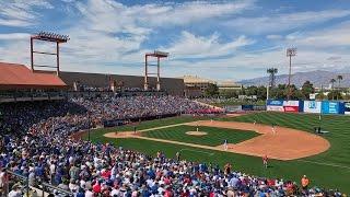 Fans talk Cubs vs. Reds Big League Weekend in Las Vegas