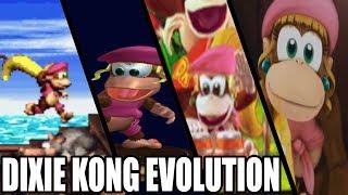 Evolution of Dixie Kong ( 1995 - 2018)