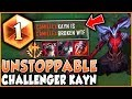 THIS KAYN BUILD IS LITERALLY UNSTOPPABLE! CHALLENGER SEASON 9 KAYN GAMEPLAY - League of Legends