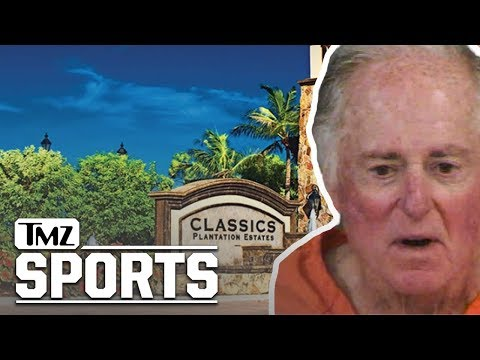 Legendary Sportscaster Warner Wolf Arrested for Defacing 'Plantation' Sign | TMZ Sports