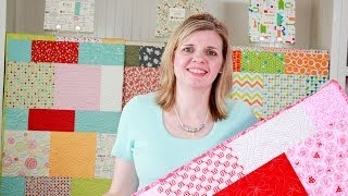 FREE Lemonade Layer Cake Quilt Pattern with Moda Fabrics | Fat Quarter Shop
