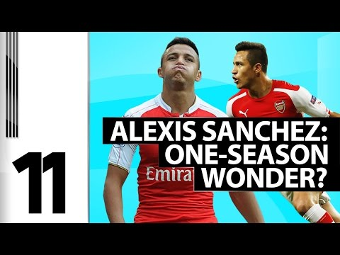 11 - Alexis Sanchez: One-Season Wonder?
