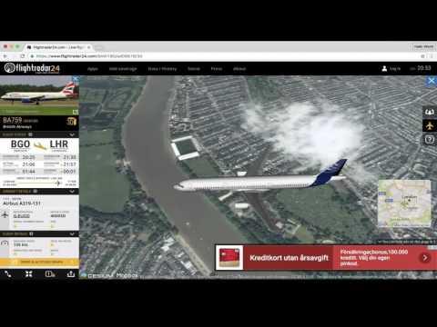 Flightradar24 - Watch Airplanes Landing Live!