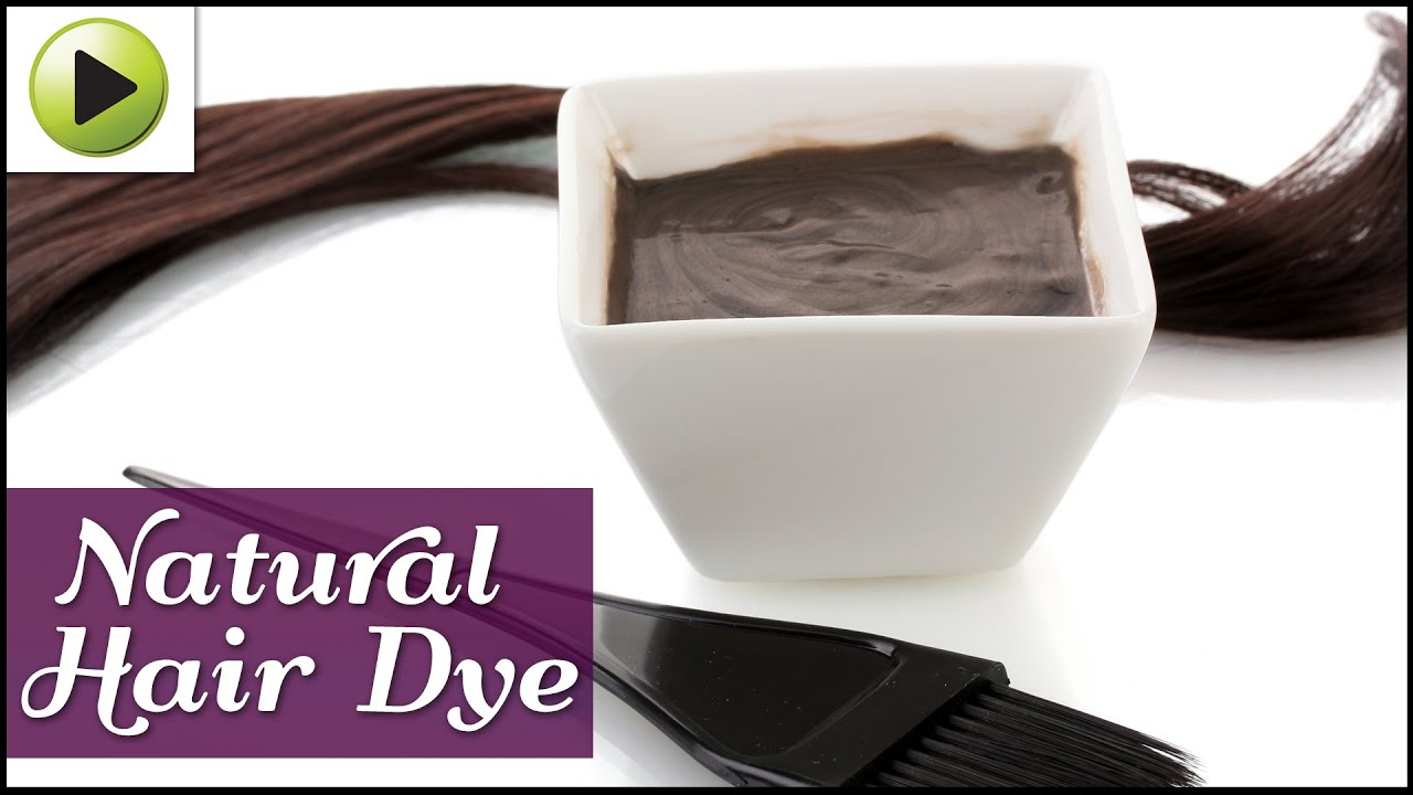 DIY Hair Dye - YouTube