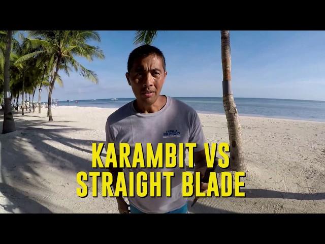 Straight Blade vs Karambit