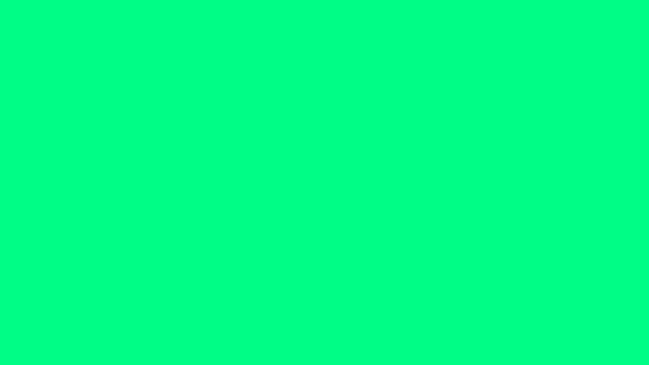 Цвет Весенне-зелёный #00ff7f (Full HD) 🎨 - YouTube